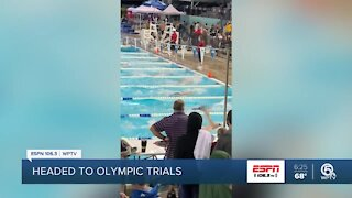 King's Academy swimmer preparing for Olympic trials