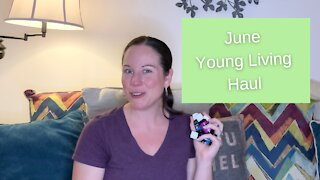 June 2021 Young Living Unboxing
