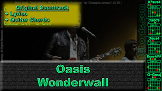 Oasis - Wonderwall - Original Song - Lyrics Only (0004-A010)