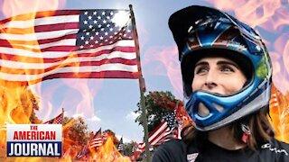 US Olympian Threatens To Burn Flag Yet Still Remains On Team
