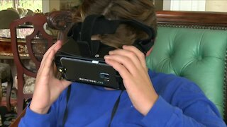 Wearable tech helping Orchard Park teen see the world