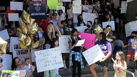 LA Schools Rally_Report #2_Parents Speak Out
