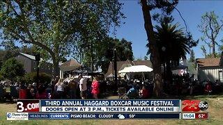 Annual Haggard Boxcar Music Festival