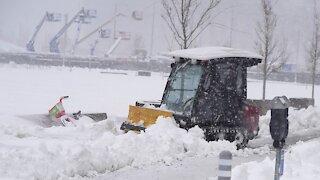 Denver International Airport Reopens After Snowstorm