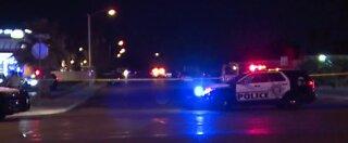 1 person shot during a stolen truck investigation
