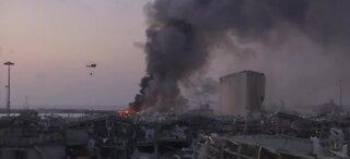 Heartbreaking video of explosion in Beirut