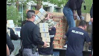 Las Vegas police host back-to-school event