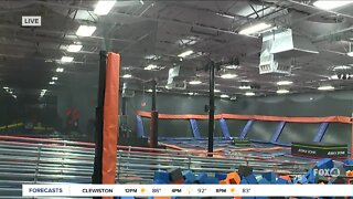 Skyzone gives back to essential workers