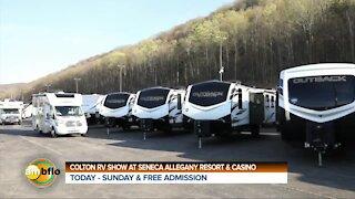 Colton RV show at Seneca Allegany Resort and Casino