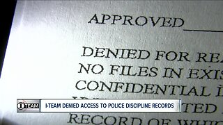 I-TEAM: Release of police discipline records denied by law
