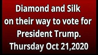 Diamond and Silk voting experience 2020
