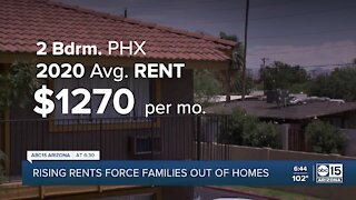 Rising rents forcing Valley families out of homes