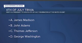 Trivia: Which president held first celebration