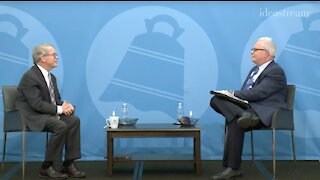 Gov. Mike DeWine sits for interview at City Club