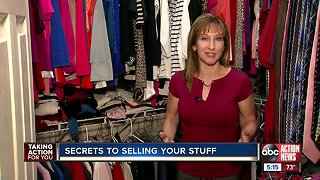 Secrets to selling your stuff