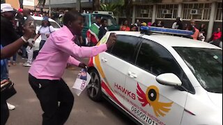 UPDATE 1 - Media blocked from court as Bushiri and wife appear (9L5)