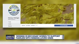 'Missing in Michigan' works to support families with missing loved ones