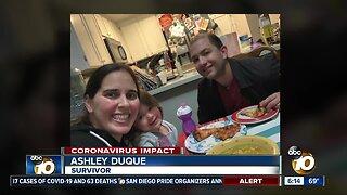 Pregnant mom beats coronavirus and reunites with family