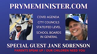PRYMEMINISTER.COM - SPECIAL GUEST JANE SORENSON - PATRIOT PARENTS