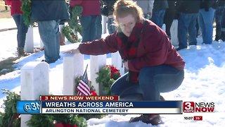 Wreaths Across America Honoring Veterans in Omaha