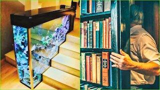 ✅ Best Interior Design Ideas || Secret Doors || Optical Illusions