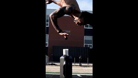 Incredible Backflip Oreo Dunk Challenge