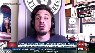 Garces teacher reportedly fired over controversial social media posts
