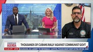 Cubans Protest Against Communist Govt.