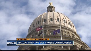 A Senate bill making it harder for initiatives to be placed on the ballot sparks controversy