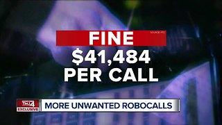 Surge of unwanted robocalls during shutdown