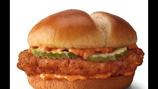 3 versions of McDonald's new fried chicken sandwich