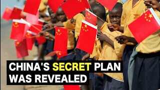 China's secret plan was revealed and criticism from the world.