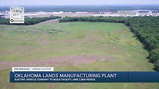 Stitt: Oklahoma lands manufacturing plant
