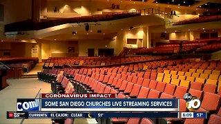 Churches live streaming services amid coronavirus