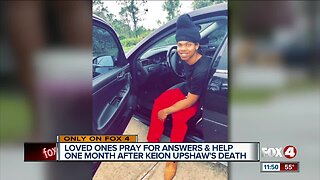 Family of Keion Upshaw still searching for answers one month later