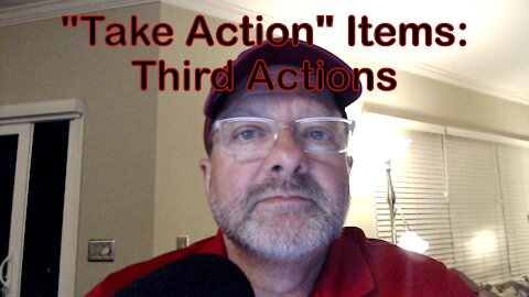 """""""Take Action"""" Items: Third Actions - Recruit & Support MAGA Candidates!"""