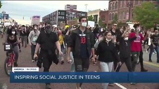 Young people navigating life, trauma, and push for social justice