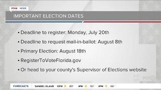 Important election dates
