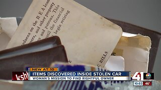Kansas City woman's mission to find stolen car takes unexpected turn