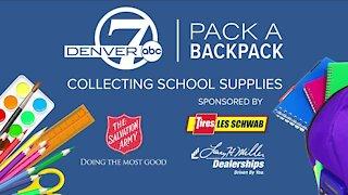 Les Schwab & Denver7 // Pack a Backpack
