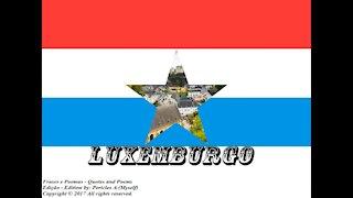 Bandeiras e fotos dos países do mundo: Luxemburgo [Frases e Poemas]