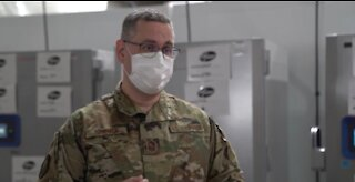Ohio National Guard assists with preparing for COVID-19 vaccine distribution