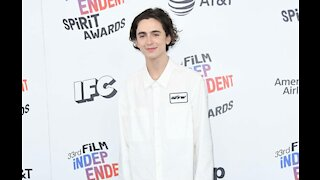 Timothée Chalamet only used green screen twice for 'Dune'