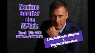 Interview w/Maxime Bernier - Leader of the People's Party