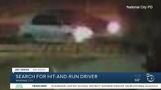Search on for driver in deadly National City hit-and-run