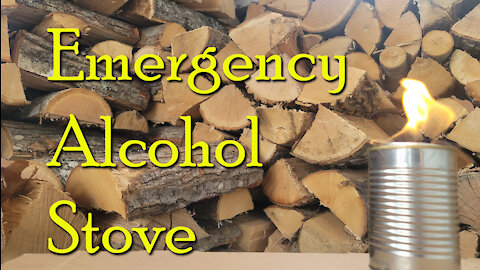 Make a Quick & Easy Alcohol Stove ~ Emergency Preparedness ~ Cooking or Heat