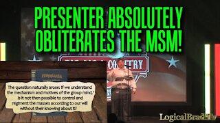 Brad Getz' Dallas Presentation on the Propaganda Machine