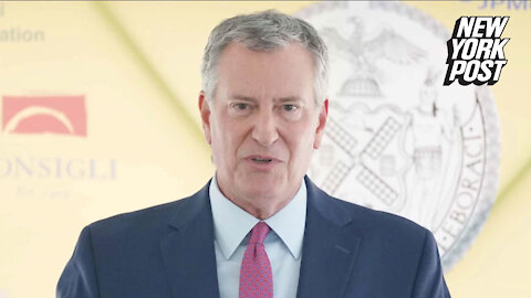 De Blasio to expand COVID vaccine-or-test mandate to all city workers