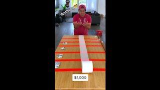 Money Paper Challenge ,Bonus challenge