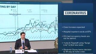 Hospitalizations increase across Arizona amind coronavirus